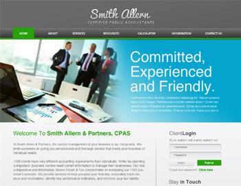 Alvarado CPA Website Template