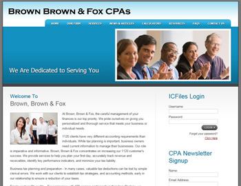 Archer CPA Website Template