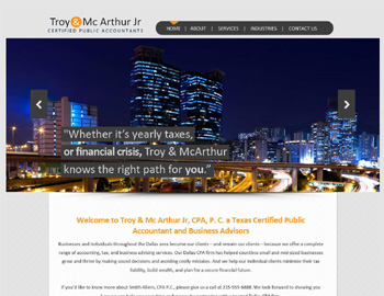 Atlanta CPA Website Template
