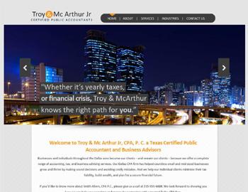 Atlanta CPA Website Template