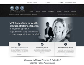 Bay CPA Website Template