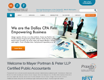 Dayton CPA Website Template