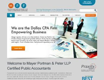 Dayton CPA Website Template