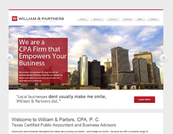Fremont CPA Website Template