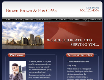 Largo CPA Website Template