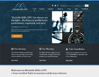 Lexington CPA Website Template