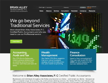 Market CPA Website Template