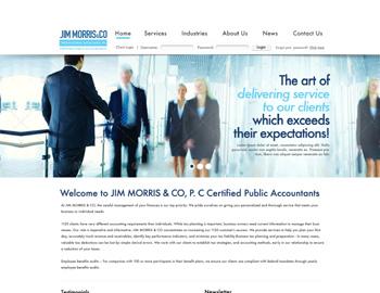 Marquez CPA Website Template