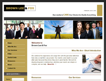 Middleton CPA Website Template