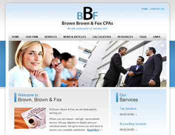 Perigee CPA Website Template