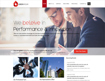 Sidney CPA Website Theme