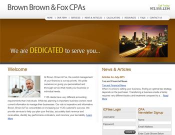 Silverton CPA Website Template