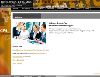 Southwest CPA Website Template