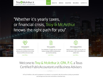 Voss CPA Website Theme
