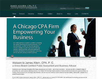 Wheaton CPA Website Template