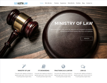 Austin Law WordPress Theme