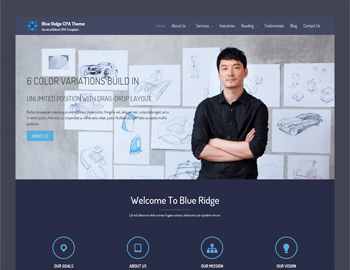 Blue Ridge CPA WordPress