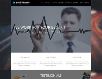 Cisco WordPress Template