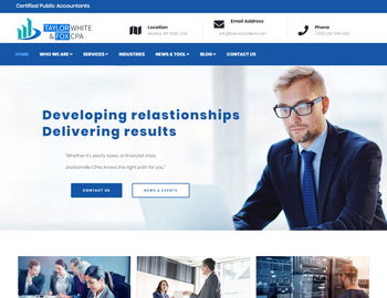 Jacksonville CPA WordPress Template
