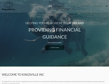 Kingsville WordPress Theme