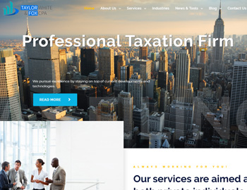 Navarro CPA WordPress Template
