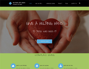 Non-Profit Website Template