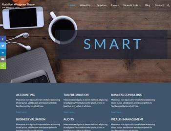 Rockport WordPress Theme