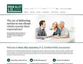 Stockton CPA Website Template
