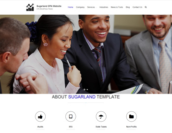 Sugarland CPA WordPress Theme